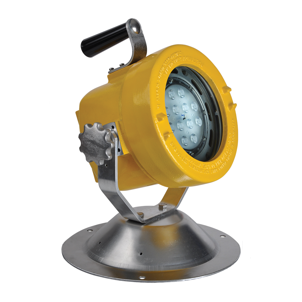 Slxp led explosion proof portable led floodlight image