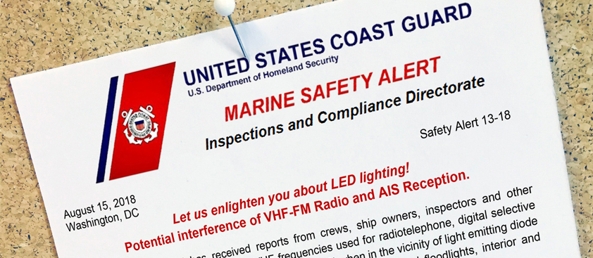 The US Coast Guard Marine Safety Alert Letter