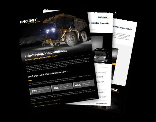 Retrofit Lighting Tips For Haul Trucks