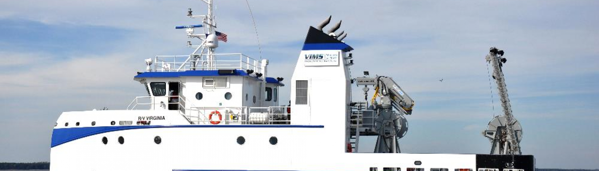 VA Research Vessel Banner