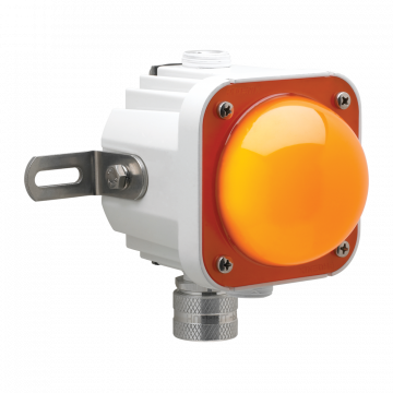Cube-Light with an Amber Lens
