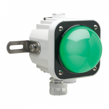 Cube-Light with a Green Lens