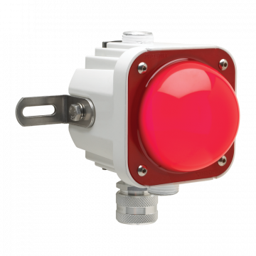 Cube-Light with a Red Lens