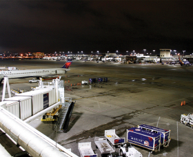 Atlanta Airport After with LED