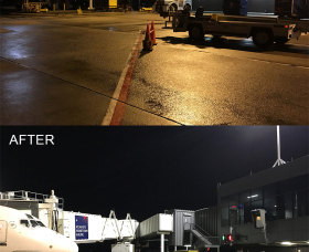 Atlanta Airport Terminal 1 Before and After