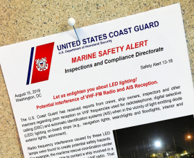 US Coast Guard Memo on Led Lights