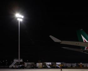 JFK Airport Apron Lighting