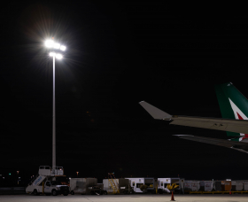 JFK Airport Apron Lighting