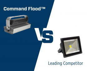 Phoenix Lighting Command Flood vs. Competitor Comparison