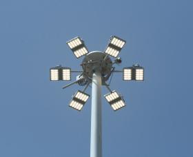 High Mast Lights at Port of Freeport