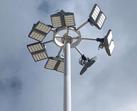 High Mast Lights at Nassau Container Port